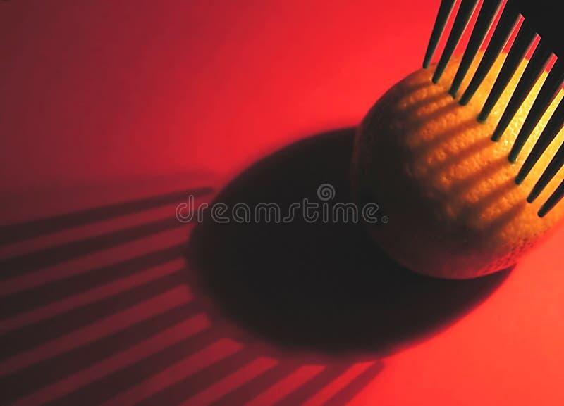Limone Di Raccolto Nel Colore Rosso Fotografia Stock Libera da Diritti