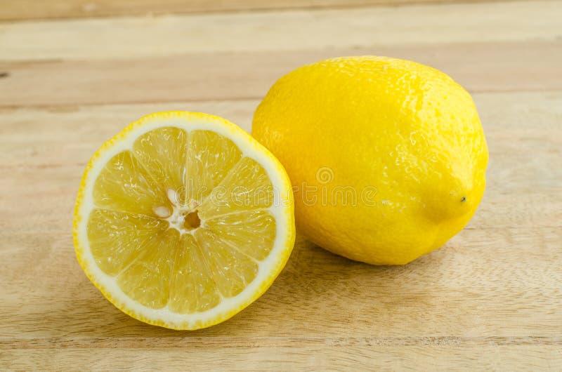 Limone fresco del primo piano fotografia stock