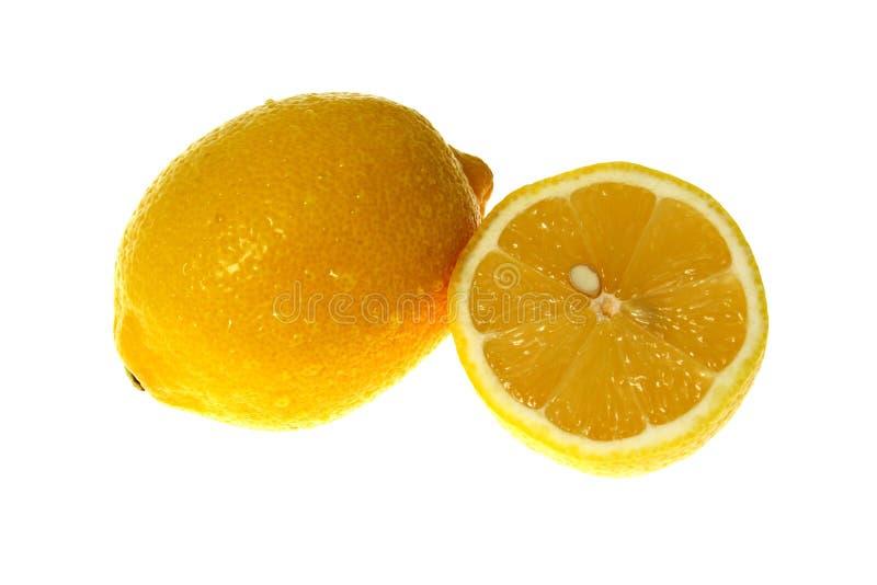 Limone giallo fotografie stock libere da diritti