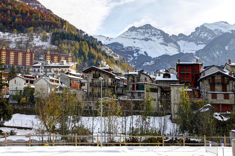 Download Limone Piemonte, Italy. Ski Resort Near France. Stock Image - Image: 22043115