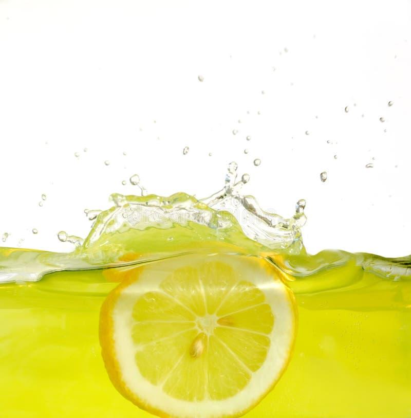 Limone in spremuta immagini stock libere da diritti