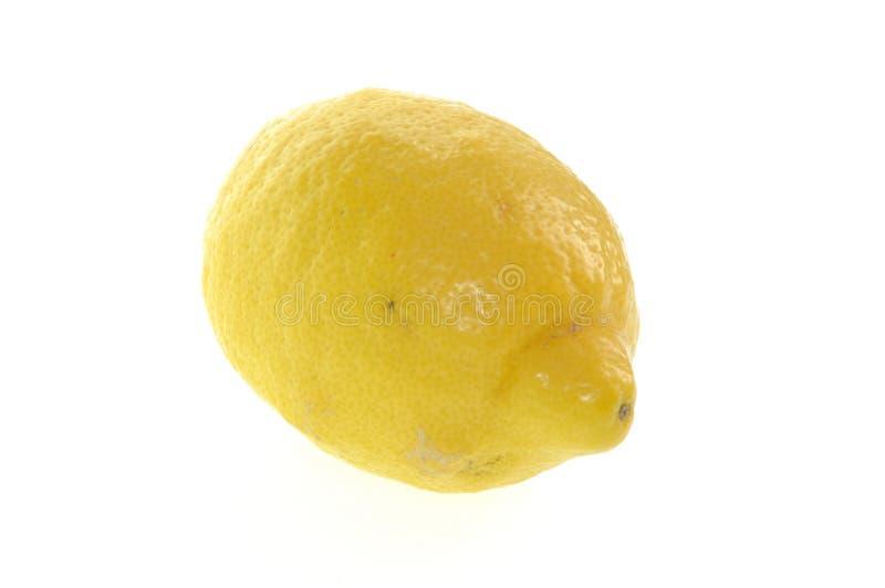 Limone su bianco fotografie stock