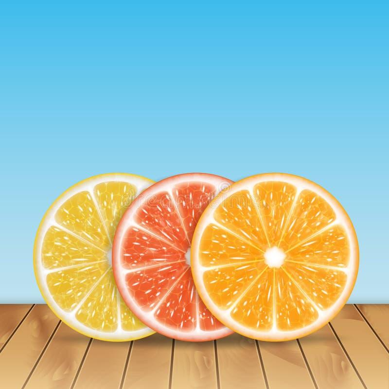 Limones y cal libre illustration
