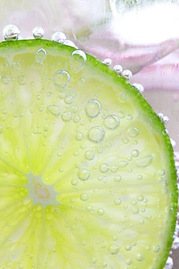 limonki tła morza soda szklana obrazy royalty free