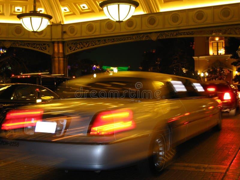Limosine at Casino Hotel stock photography