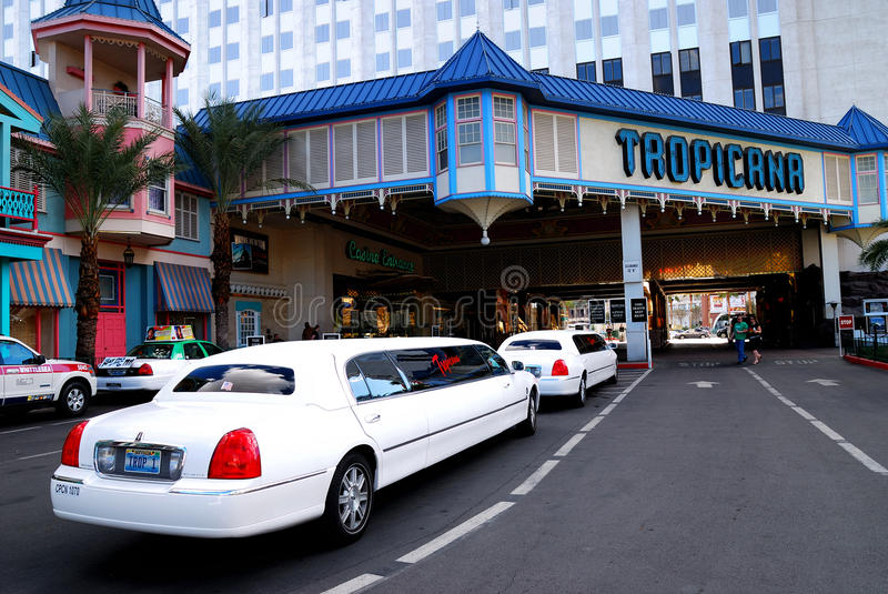 limousine ξενοδοχείων las έξω από τα vegas tr στοκ εικόνες