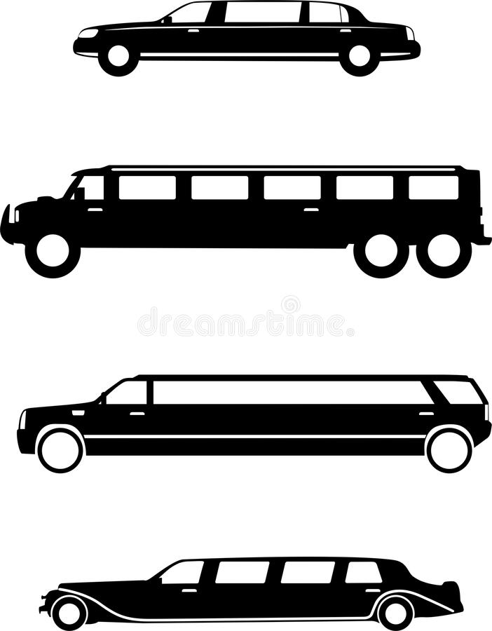 limousine illustrazione di stock