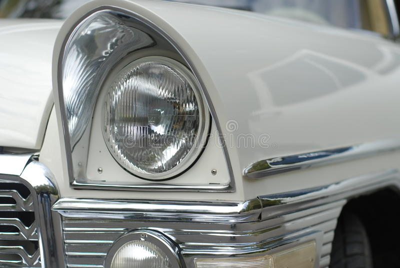 Limousine blanche photographie stock