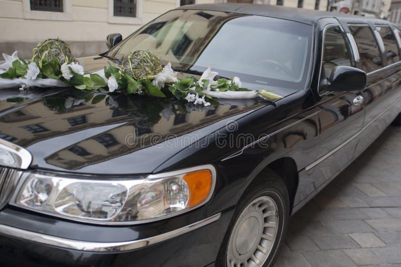 Limousine de mariage images stock