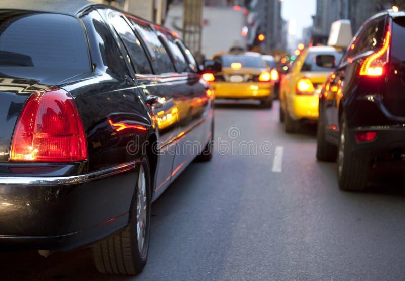 Limousine de NYC images stock
