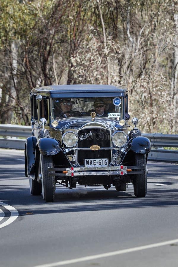 Limousine 1927 de Packard 4333 photo libre de droits