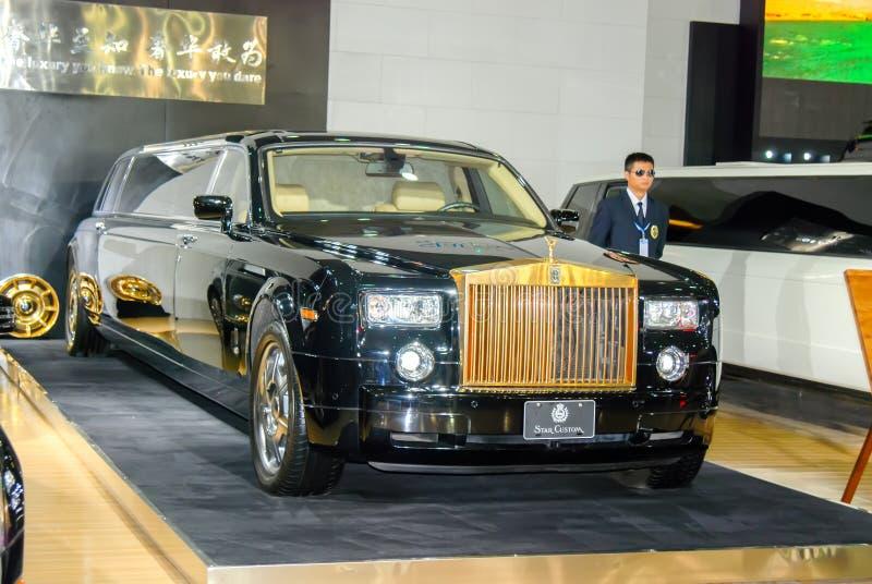 Limousine de Rolls Royce photographie stock