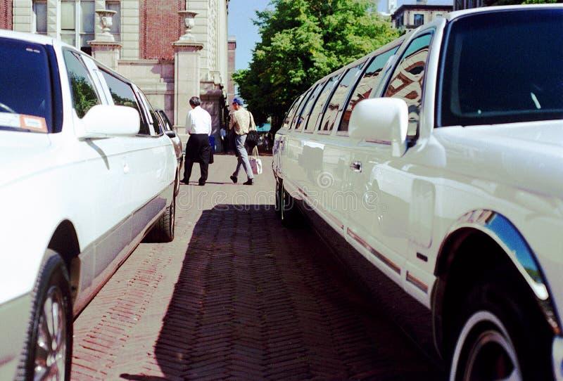 Limousine de vintage - NYC photographie stock libre de droits