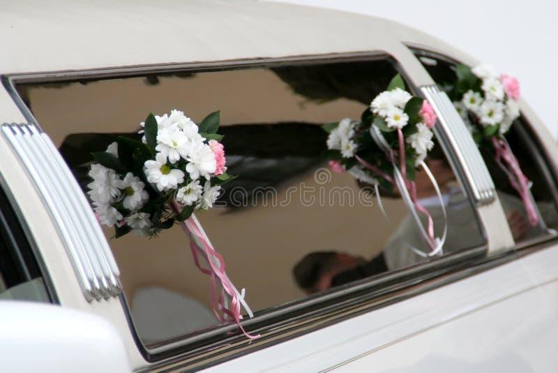 Limousine decorate immagine stock