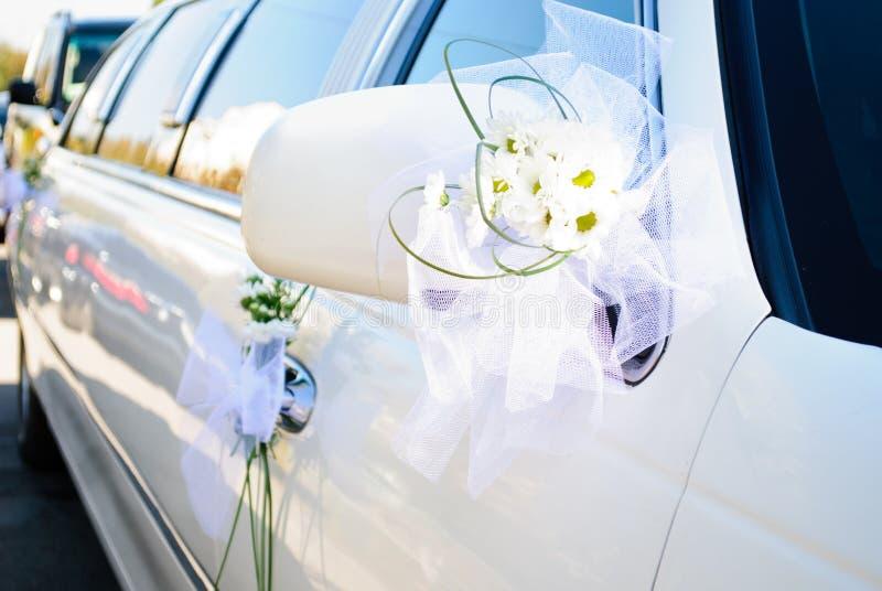 Limousine di cerimonia nuziale fotografie stock libere da diritti