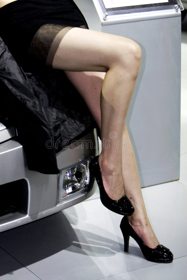 Download Limousine and girl stock image. Image of beauty, look - 6798351