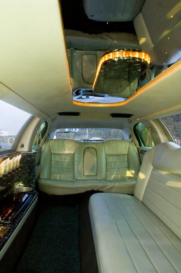 Limousine interior royalty free stock photo