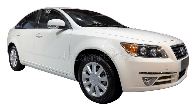 Download Limousine Isolated Royalty Free Stock Photography - Image: 18787907