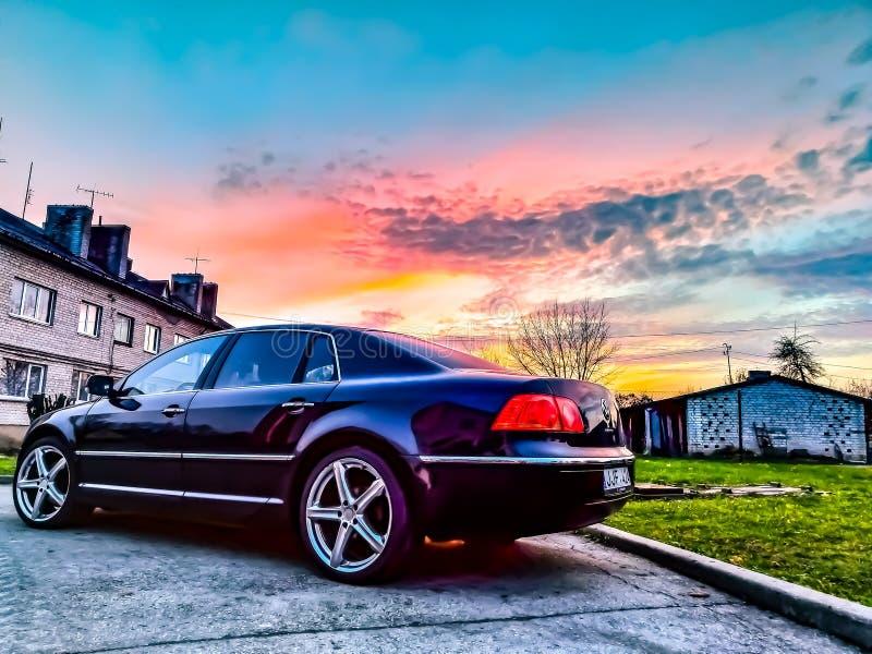 Limousine royalty free stock photo