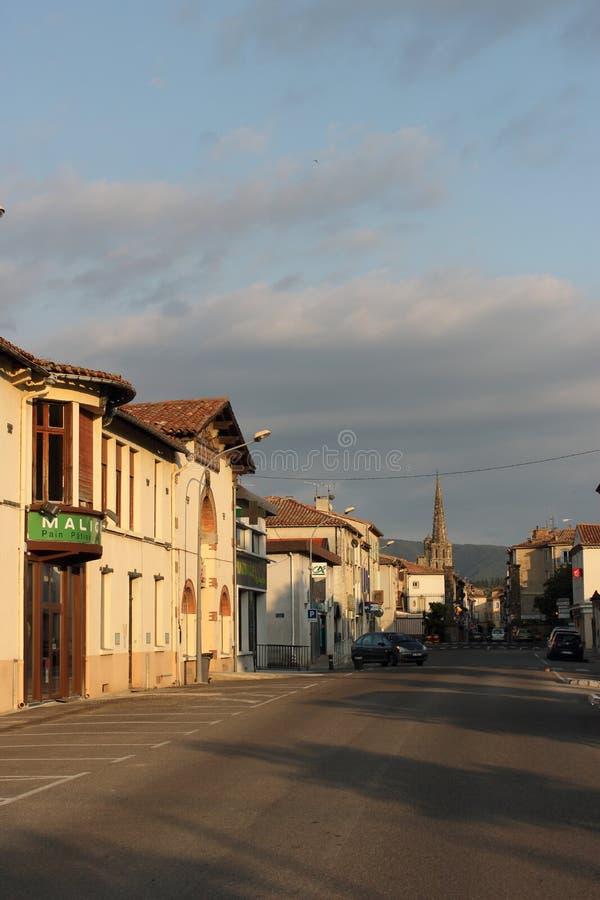 Limoux wioska, Francja zdjęcie royalty free