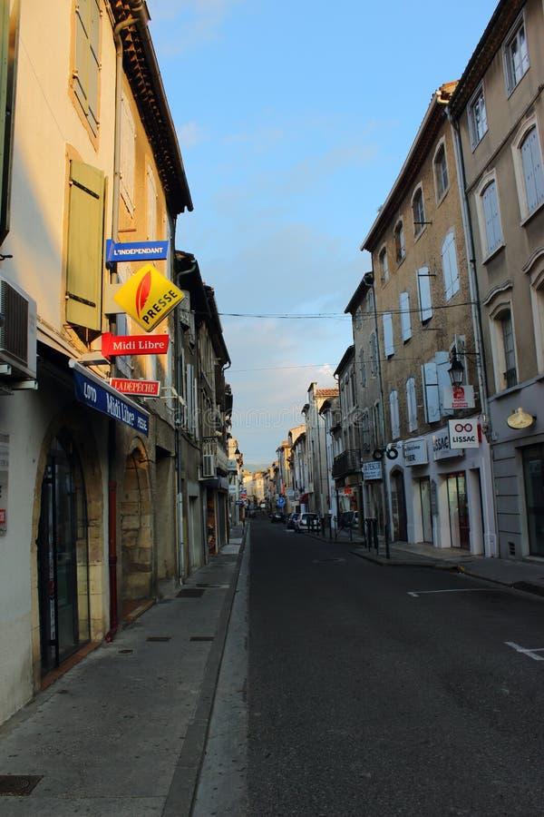 Limoux wioska, Francja zdjęcia royalty free