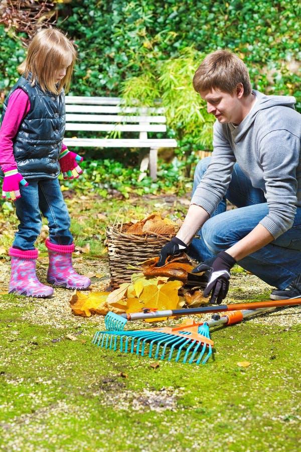 Limpar no quintal fotografia de stock royalty free