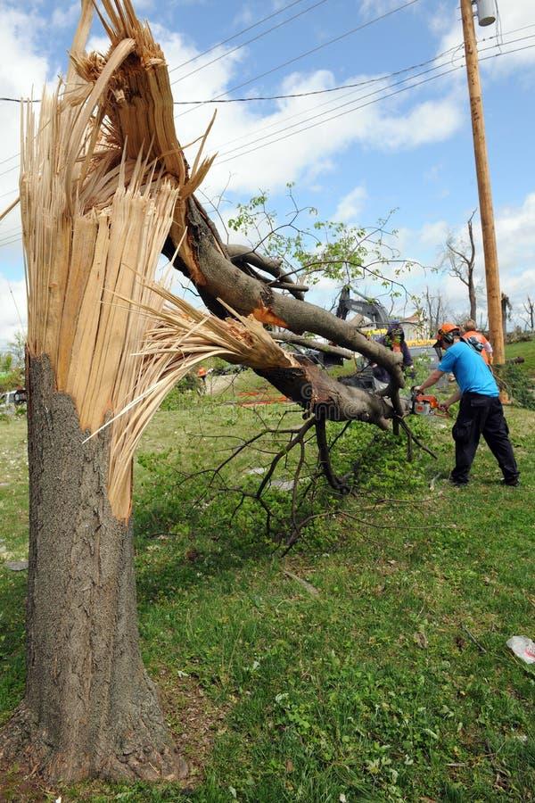 Limpe após furacões de St Louis imagem de stock