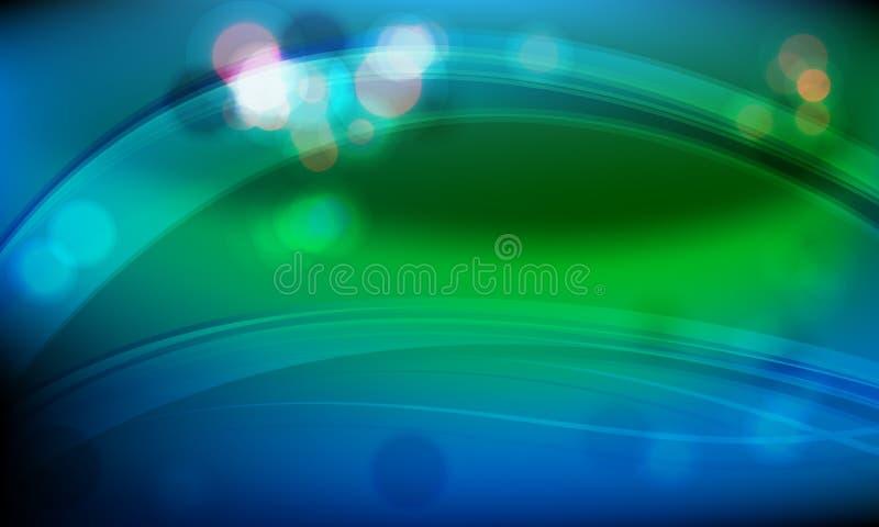 Download Limpe o fundo da onda ilustração do vetor. Ilustração de dinâmico - 12812682