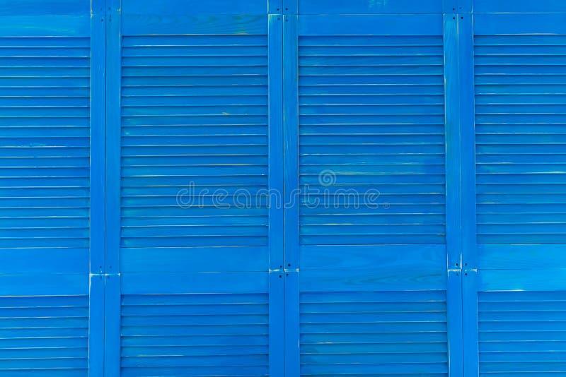 Limpe o fundo de madeira da textura das portas dos antolhos dos obturadores imagem de stock royalty free