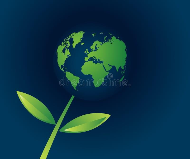 Limpe o mundo! ilustração stock