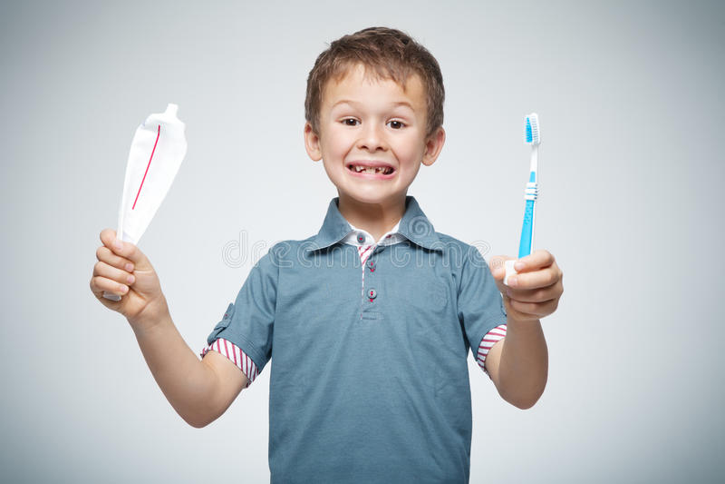 Limpe os dentes fotos de stock