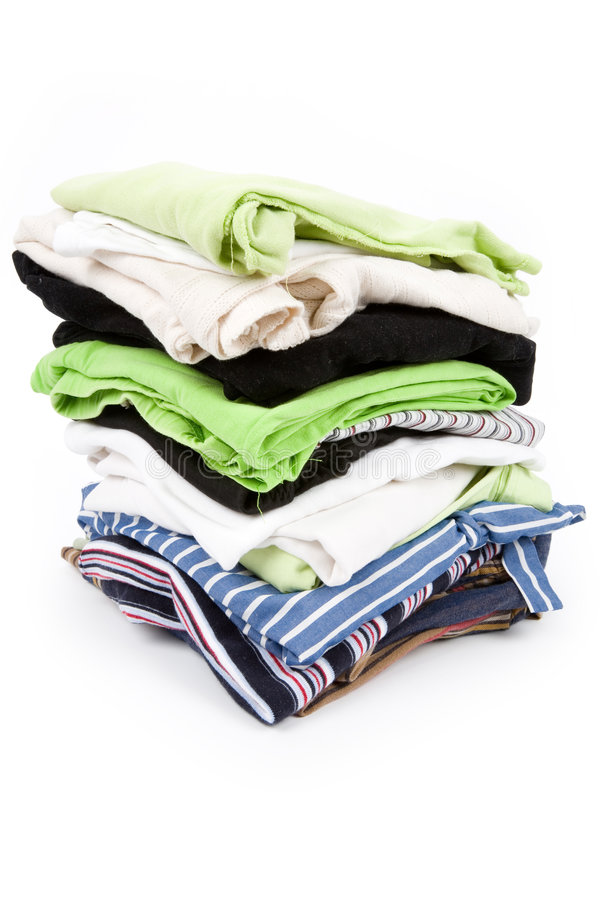 Limpe a roupa fotos de stock royalty free