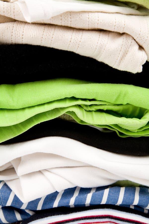 Limpe a roupa fotografia de stock royalty free