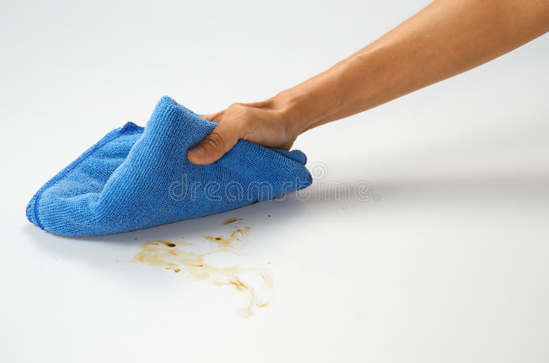 Limpeza fotografia de stock