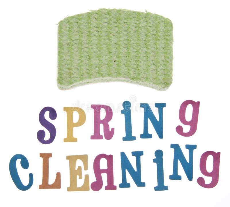 Limpeza da primavera fotos de stock