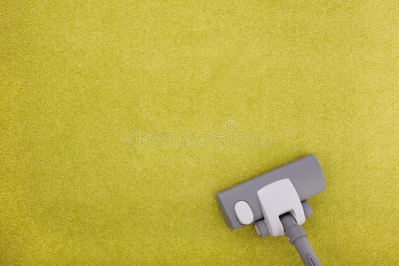 Limpeza do tapete fotos de stock