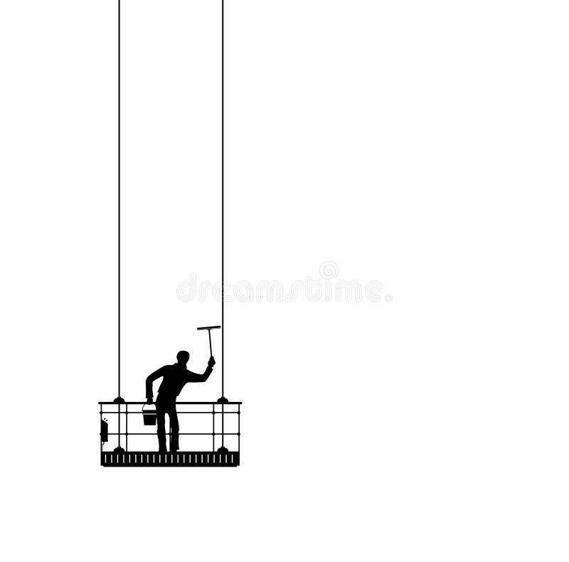 Limpiador de ventana libre illustration