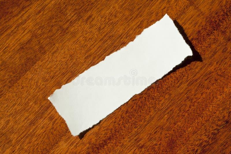 Limpie el desecho del papel fotografía de archivo