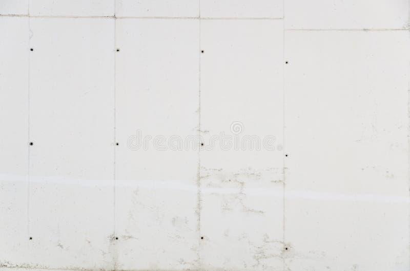 Limpie el muro de cemento blanco imagen de archivo