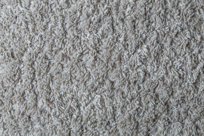 Limpie la alfombra blanca fotografía de archivo libre de regalías