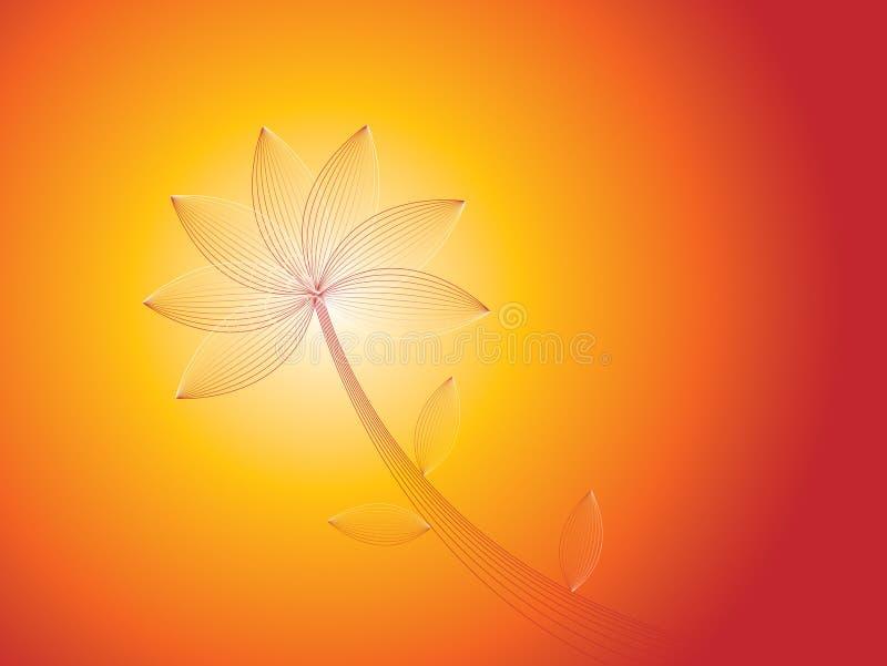 Limpie la flor del verano libre illustration
