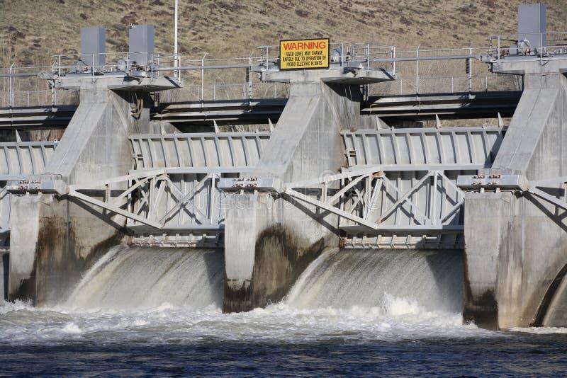 Limpie la hidroelectricidad fotos de archivo