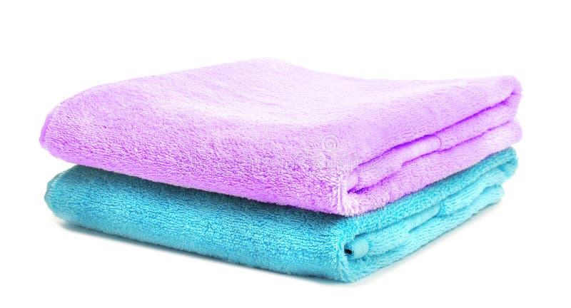 Limpie las toallas suaves imagenes de archivo