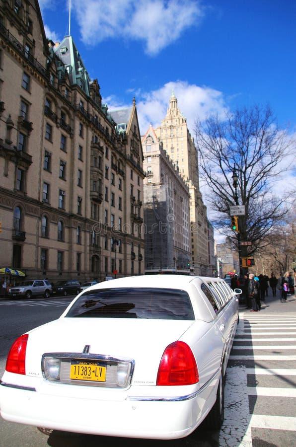 Limusina de New York City foto de archivo libre de regalías