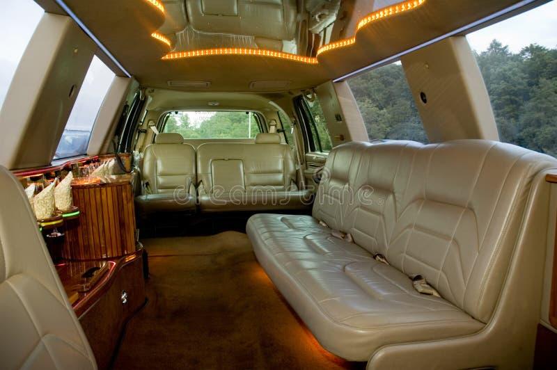 limuzyna wewnętrzna fotografia royalty free
