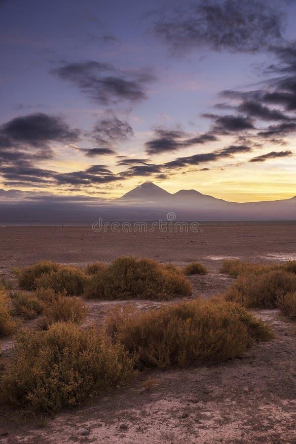 Lincancabur火山 库存图片