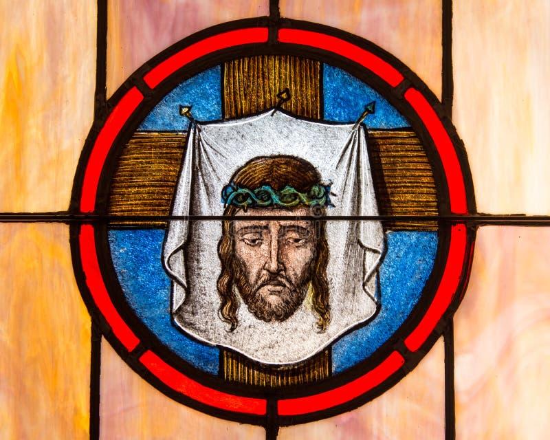 Linceul de Jésus image libre de droits