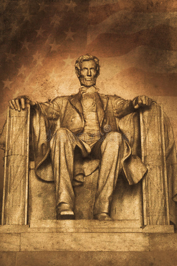 Lincoln ilustração do vetor