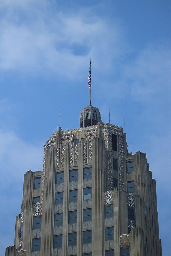 Lincoln Bank Tower, Fort Wayne, Indiana foto de stock royalty free