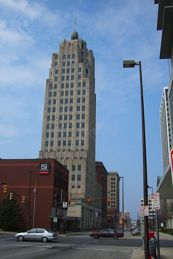 Lincoln Bank Tower, fuerte Wayne, Indiana fotografía de archivo libre de regalías